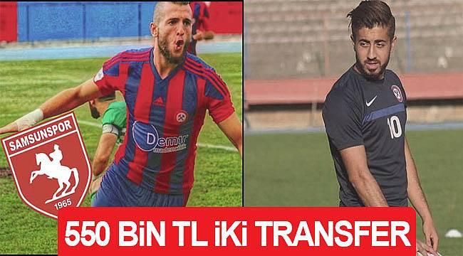 Samsunspora iki futbolcuya 550 bin TL ödeyecek