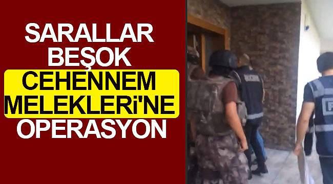 Suç örgütü operasyonu 35 gözaltı