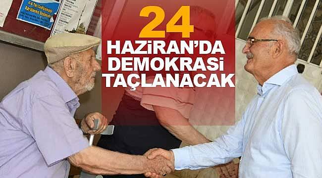 Yılmaz, 24 Haziran'da Türkiye demokrasisi taçlanacak