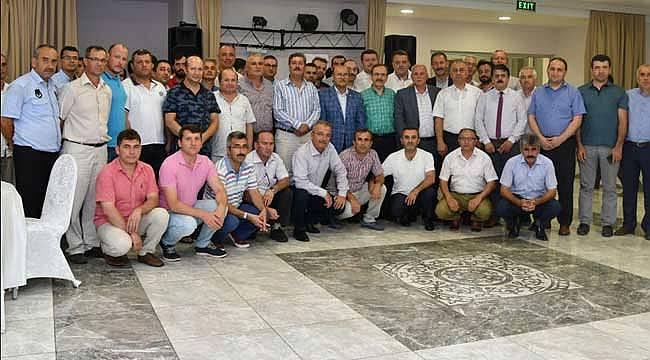Başkan Şahin BEM-BİR-SEN üyeleriyle buluştu