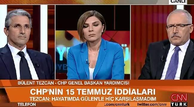 Bülent Tezcan, Nedim Şener arasında sert tartışma