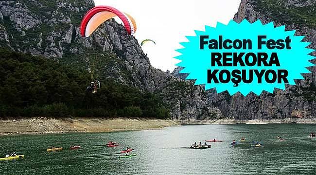 Falcon Fest, rekor yolunda