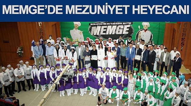 MEMGE yeni mezunlarını verdi