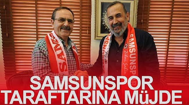 Samsunspor'a büyükşehirden destek