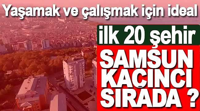 Türkiye'nin yaşamak ve çalışmak için en iyi kentleri