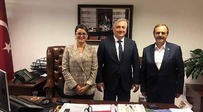 Başkan Şahin'den Ankara'da ziyaretler