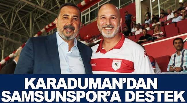 Samsunspor'a destek