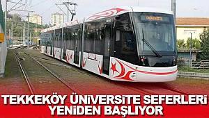 Tekkeköy üniversite seferleri yeniden başlıyor