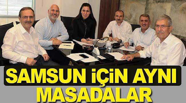 AK Parti'den Samsun zirvesi