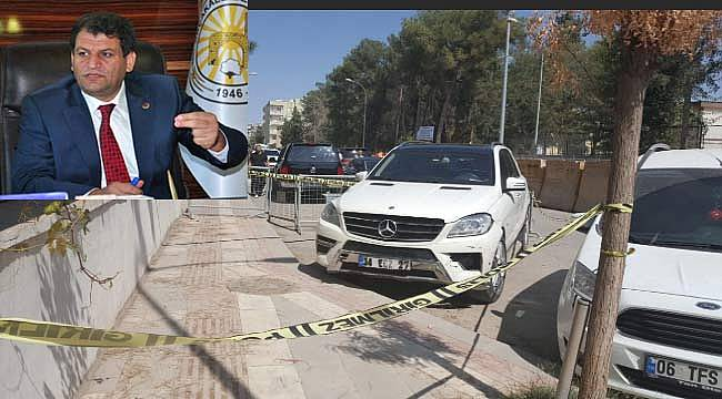 Akçakale Belediye Başkanı Abdülhakim Ayhan'i silahlı saldırı