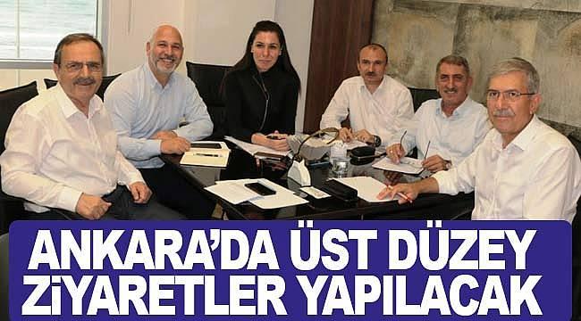 Ankara'daSamsun için üst düzey ziyaretler