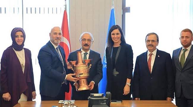 Başkan Şahin, Ankara'da