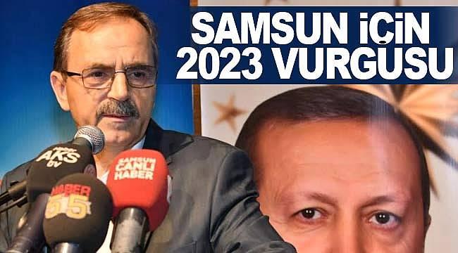 Başkan Şahin'in 2023 vurgusu