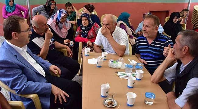 Başkan Şahin, şehit ailesini ziyaret etti