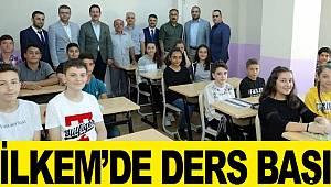 İLKEM'de öğrenciler ders başı yaptı