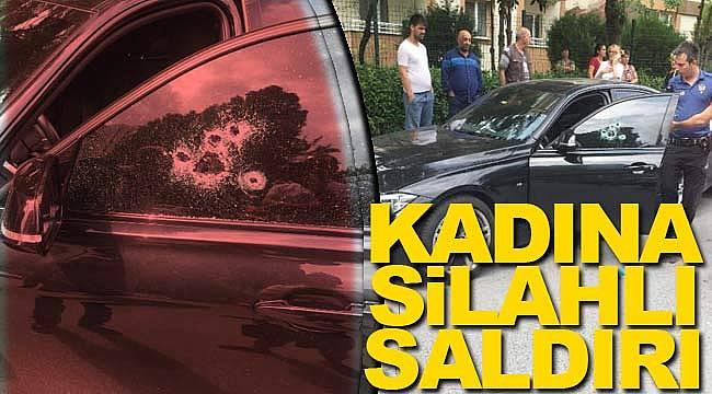Kadına otomobilde silahlı saldırı