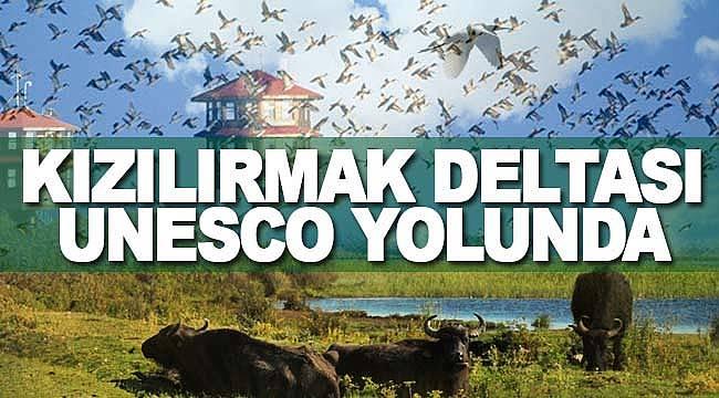 Kızılırmak Deltası UNESCO yolunda