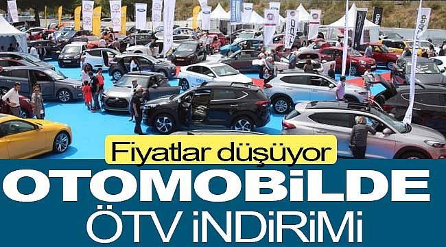 Otomotiv de ÖTV indirimi, fiyatlar düştü