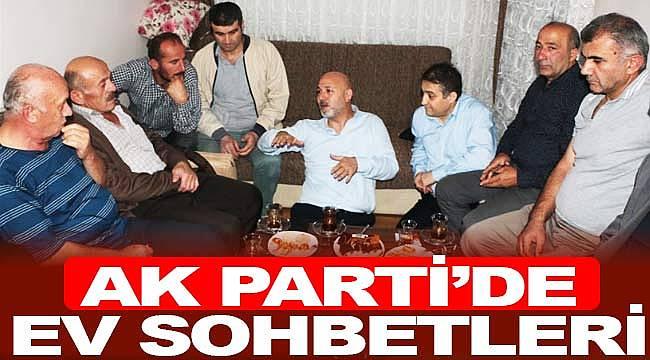 AK Parti'de ev sohbetleri