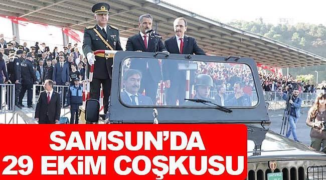Samsun Cumhuriyet coşkusu