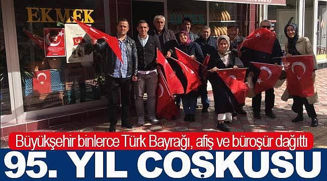 Samsun'da 29 Ekim coşkusu başladı