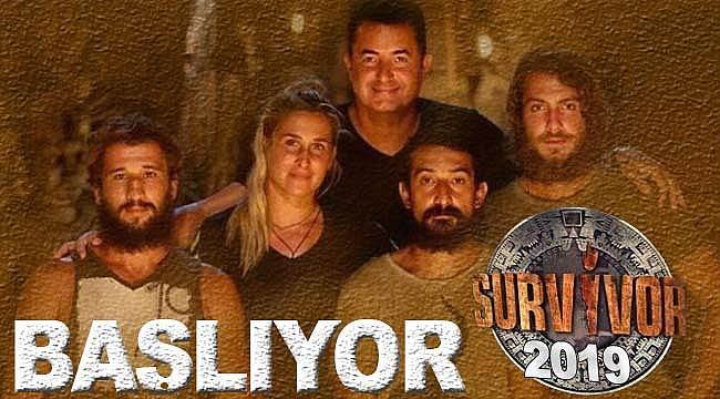 Survivor 2019'un başlayacağı tarih belli oldu, yeni isimler var