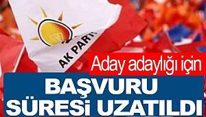 AK Parti'de belediye başkanlığı başvurusu süresi uzatıldı