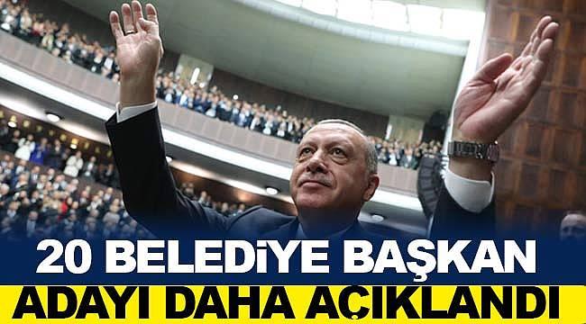 AK Parti'den Özhaseki Ankara, Zeybekçi İzmir adayı oldu