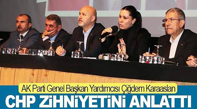 Karaaslan, CHP zihniyetini anlattı