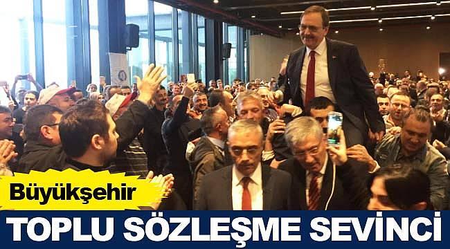 Samsun Büyükşehir'de toplu sözleşme