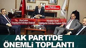 AK Parti'de önemli buluşma