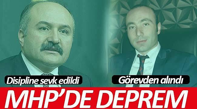 MHP İl Tekin görevden alındı, Erhan Usta Disipline sevk edildi