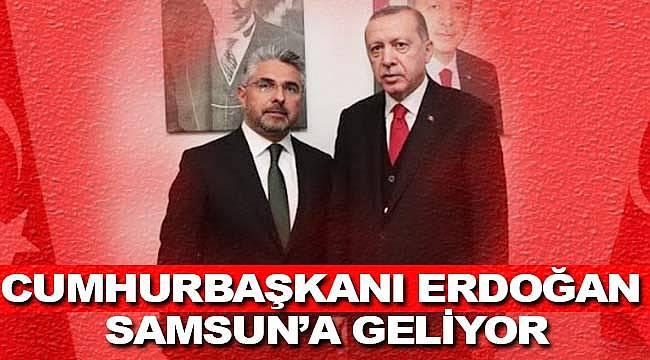Cumhurbaşkanı Erdoğan'ın Samsun mitingi belli oldu
