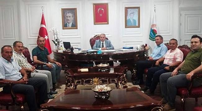 Başkan Demirtaş'a ziyaret