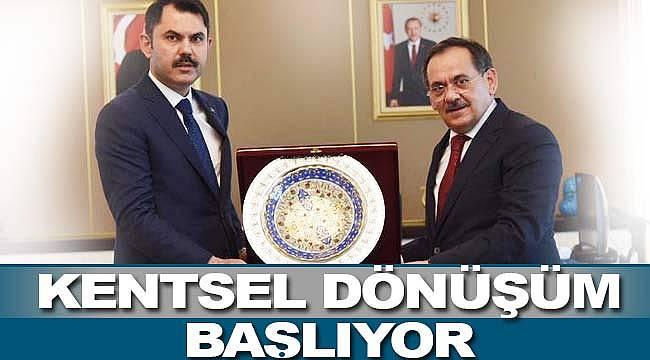 Samsun'da kentsel dönüşüm
