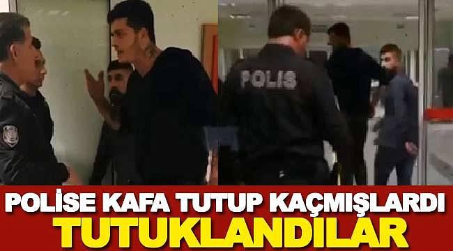 Balıkesir'de polise kafa tutup kaçan zanlılar tutuklandı