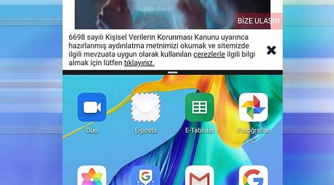 Huawei telefonlarda ekranı ikiye bölme