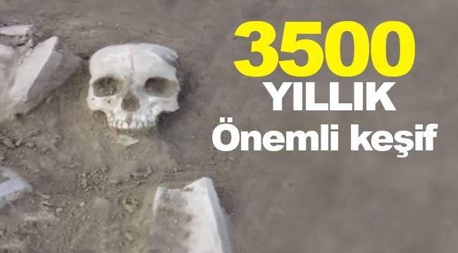 Binlerce yıl önce yaşayan kadın iskeleti bulundu, Hitit dönemi önemli keşif