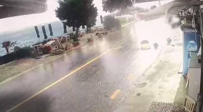 Bodrum'da hava bozdu, fırtına çıktı