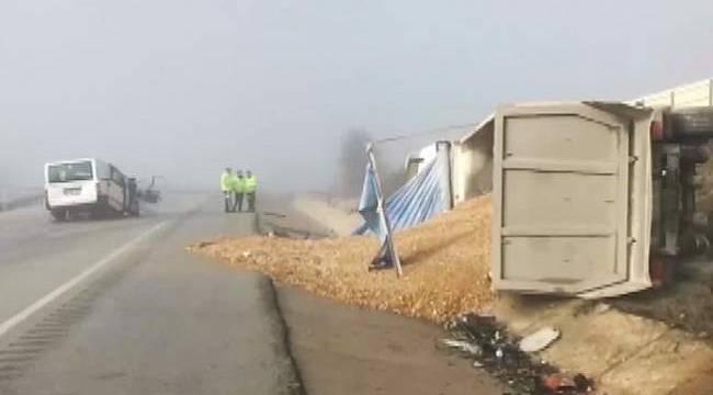 Kastamonu'da acı kaza 3 ölü, 2 yaralı
