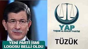 Yaşam ve Adalet Partisi YAP ismi Ahmet Davutoğlu'nun yeni kuracağı parti oldu