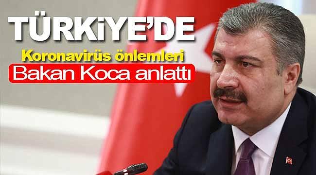 Türkiye'de Koronavirüs önlemleri arttı