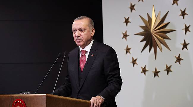 Cumhurbaşkanı Erdoğan, Milli Dayanışma Kampanyası başlattı