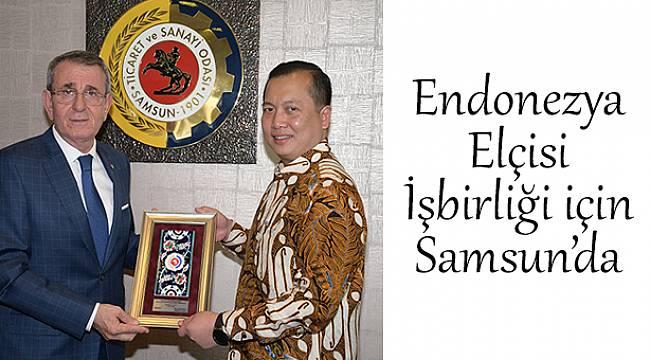 Endonezya Büyükelçisi Ikbal, işbirliği için Samsun'da