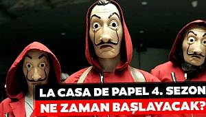 La Casa De Papel yeni sezonu Nisan'da