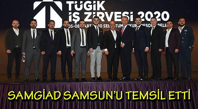 SAMGİAD TÜGİK İŞ ZİRVESİ'NDE