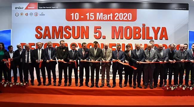 TÜYAP Samsun 5. Mobilya Dekorasyon Fuarı açıldı