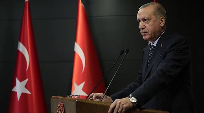 Erdoğan: Geldiğimiz noktada salgını yatay seyre geçirmeye başladığımızı görüyoruz