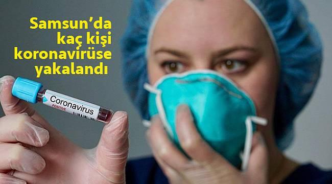 Samsun'da kaç kişi koronavirüse yakalandı