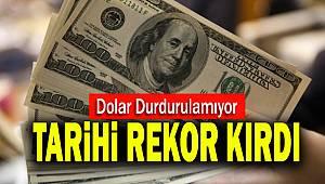 Dolardan tarihi rekor: 7,24'ün üzerine çıktı